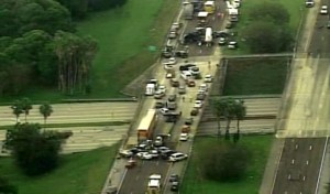 50-car crash on I-75 at Sarasota