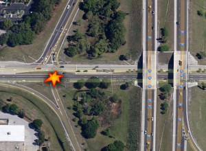 Bee Ridge Road Card Crash Map